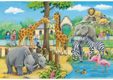 Ravensburger Welcome To The Zoo 2 x 24 Piece Jigsaw Puzzles