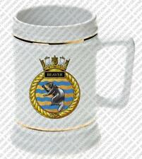 HMCS BEAVER ROYAL CANADIAN NAVY BEER STEIN