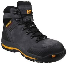 "CAT Workwear Mens Munising 6"" Waterproof Leather S3 Safety BOOTS UK 7 646881645505"