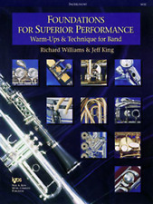 FOUNDATIONS FOR SUPERIOR PERFORMANCE OBOE - BAND METHOD BOOK W32OB