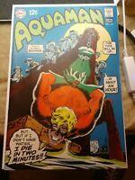 Aquaman #44 (1969 VF/NM 9.0) Nick Cardy Cover, Jim Aparo interior Art - NICE!