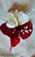 Handmade Silk Carnation Wedding Flowers, Petals & Garlands