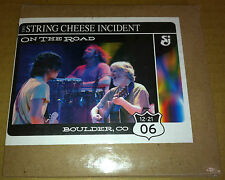 STRING CHEESE INCIDENT LIVE On the Road 3 CD SET SEALED BOULDER Colorado 2006