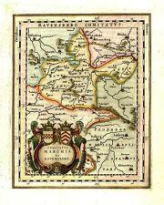 Karte Ravensberg 1640: Boke Dornberg Glane Greffen Heepen Hesselteich Holzhausen