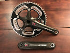 Guarnitura FSA SLK 10v 53/39 crankset 175 mm bike carbonio carbon