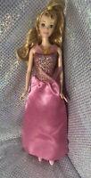 Sleeping Beauty Cinderella Disney Princess Barbie Doll Pink Dress Princess Shoes