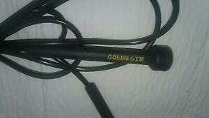 Jump rope. Golds's Gym. BLACK FITNESS TRAINING Travel