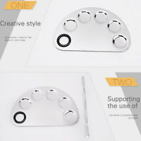 Stainless Steel Palette Spatula Foundation Eyeshadow Mixing Makeup Tool