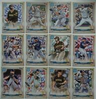 2020 Topps Gypsy Queen San Diego Padres Base Team Set of 12 Baseball Cards
