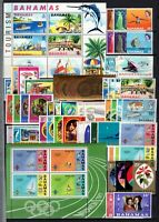 A126940/ BRITISH BAHAMAS – 1968 / 1976 MINT MNH COLLECTION - CV 120 $