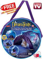 Dream Tents Foldable Winter Wonderland Kids Outdoor Indoor Twin Size Bed