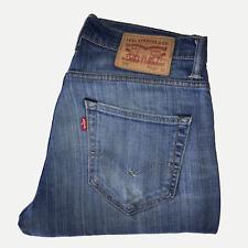 Levis 520™ 28W 32L Mens Jeans Skinny Fit Light Blue Stretch Denim ENGINEERED