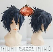 Final Fantasy XV 15 Noctis Lucis Caelum Costume Short Cosplay Wig + Free Cap