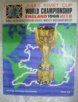 JULES RIMET CUP 1966 Tournament Brochure Souvenir  WORLD CHAMPIONSHIP ENGLAND