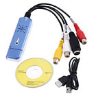 Portable USB 2.0 Video & Audio Capture Card Adapter Composite RCA New UL