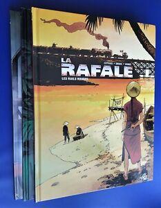 LA RAFALE. 3 ALBUMS. 2012-2014 (COMPLET). DEDICACE