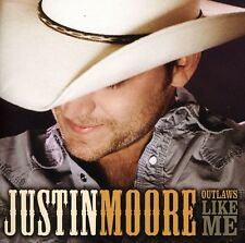 Justin Moore - Outlaws Like Me [New CD]