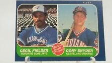 Cecil Fielder Baseball Card