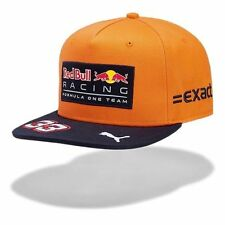 Red Bull Racing F1 Official Adults Max Verstappen Flat Brim SPA Cap - 2017