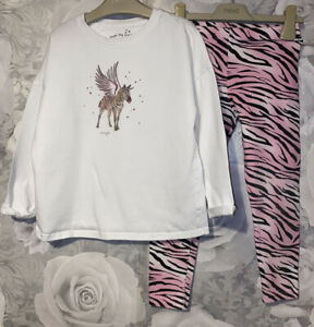 Girls Age 6 ( 5-6 Years ) Next Zebra Pyjamas