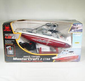 2003 New Bright RC Remote Control MasterCraft X Star Ski Boat / #7175 Open Box