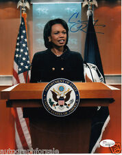 Condoleezza Rice autographed signed auto 8x10 Secretary of State photo (JSA COA)