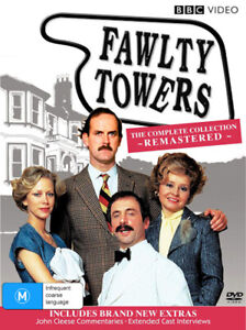 Fawlty Towers The Complete Collection: Remastered -DVD -Comedy -Excellent
