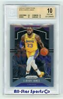 LEBRON JAMES 2019 '19-20 PANINI PRIZM Base #129 BGS 10 PRISTINE Lakers