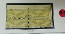 15812 U.S.Air Mail Plate Block 1930 Graf Zeppelin