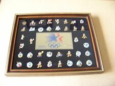 Games of the XXIIIrd Olympiad Los Angeles 1984 Olympics Sam the Eagle 38 pin set