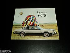 1977 Plymouth Volare Premier Road Runner sales brochure dealer literature