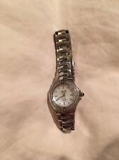 Ladies Seiko Coutura Stainless/ Mother Of Pearl & Diamond Datejust Watch