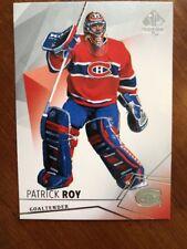 15-16 UD SP Authentic #85 Patrick Roy Pack Fresh