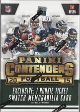 2015 Panini Contenders NFL Football Trading Cards Blaster Box