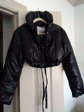 Vintage Black Gap Brand Puffer Jacket Cropped Length