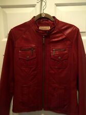 MICHAEL KORS leather jacket - MEDIUM