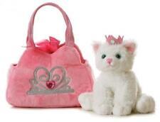 Kids Kitten Pet Carrier Play Set Cat Animal Pretend Plush Gift Girl Toddler NEW