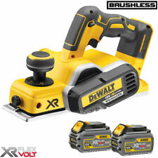 DeWalt DCP580N 18v XR Li-Ion Brushless Planer With 2 x 6.0Ah DCB546 Batteries
