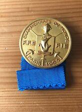 More details for fencing world championship paris 1965 official badge participant, joyce pearce