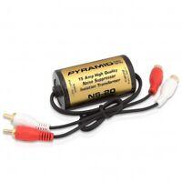 PYRAMID NS20 15 AMP CAR AUDIO RCA NOISE FILTER SUPPRESSOR ISOLATION TRANSFORMER