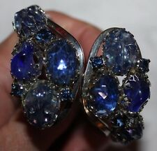 JULIANA bracelet WITH JAW DROPPING BLUE STONES-EXCELLENT