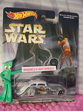 2016 STAR WARS Hot Wheels '34 CHRYSLER AIRFLOW☆white☆Pop Culture real riders