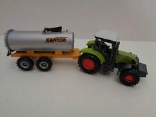 Claas Traktor + KAWECO Fasswagen Siku Serie 16