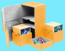ULTIMATE GUARD TWIN FLIP n TRAY AMBER 160+ CASE XENOSKIN Standard Size Card Box