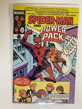 Spider-Man and Power Pack Giveaway #1 A Marvel Charity 6.0 FN (1984)