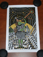Phish Jim Pollock NEO Metallic Art Print S# 206/450 Serigraph Like Astron Poster