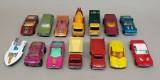 Lot of 14 - Vintage Matchbox Diecast Cars and Trucks