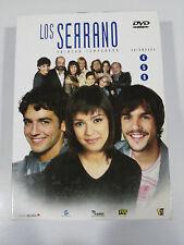 LOS SERRANO TEMPORADA 1 PRIMERA 3 DVD - 6 CAPITULOS 8-13 FRAN PEREA UNICA