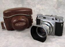Voigtlander Prominent Rangefinder Camera Nokton f1.5 50mm lens Case Shade