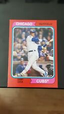 2020 Topps Archives Sammy Sosa 1974 Style Red Parallel / 75
